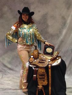 Fallon Taylor 2014 WNFR World Champion Barrel Racer
