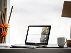 Product Mockup Template, macbook pro on office desk, give it a try!  https://placeit.net/stages/macbook-pro-on-office-desk