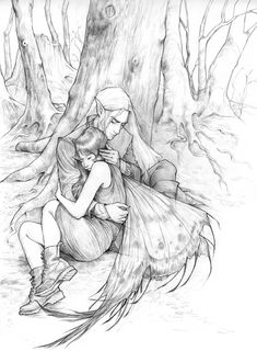 The Cruel Prince Beauty And The Beast Art, Holly Black Books, Fantasy Couples, Fanart, Couple Art, Book Characters, Faeries, Book Art, Fantasy Art
