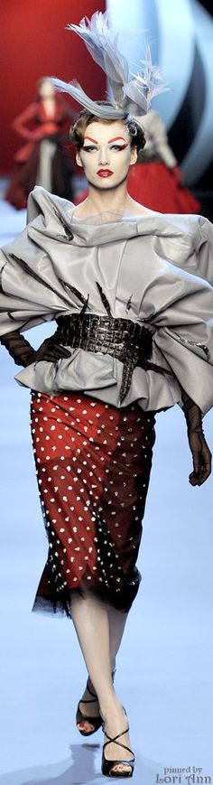 Christian Dior Couture Spring 2011 | The House of Beccaria~