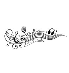 Royalty-Free Vector Images by christine-krahl (over Free Vector Images, Vector Free, Flower Vine Tattoos, Flowering Vines, Music Notes, Royalty, Nice Asses, Royals, Reign