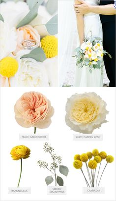 Yellow wedding flower guide yellow wedding flowers yellow garden wedding with a preppy vibe yellow flowers namesyellow spring mightylinksfo Image collections