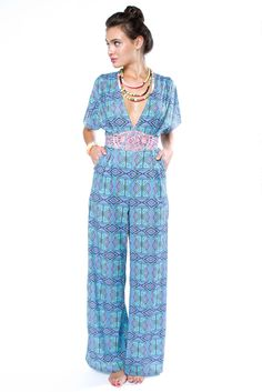 Fortress Embroidered Jumpsuit