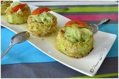 verrine-fraicheur-aux-courgettes-et-concombre / Poivré Seb Muffin, Menu, Eggs, Breakfast, Food, Cucumber, Zucchini, Pepper, Menu Board Design