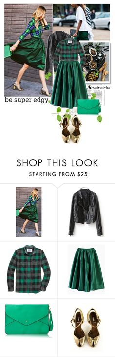 """""""Be super edgy!"""" by laonela ❤ liked on Polyvore featuring Madewell, Fendi and vintage"""