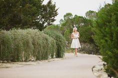 On the path to Chapel Dulcinea - Real Weddings: Courtney and Mait's Austin, Texas Elopement