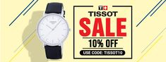 Order Tissot Watches For Sale - Creationwatches. Tissot Mens Watch, Watch Sale, Watches Online, Coupon Codes, Watches For Men, Coding, Guys, Stuff To Buy, Mens Designer Watches