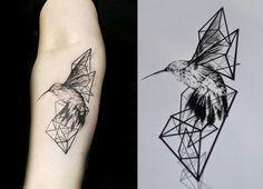 [triangle+tattoo]: [▲]dotwork tattoo[▲] by Malvina Wisniewska