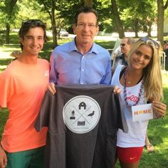 "Fairfieldista Spotlights The 203 ""Roscoe and Tory with Governor Dan Malloy"""
