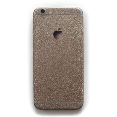 Glitter iPhone Decals (660 INR) ❤ liked on Polyvore featuring accessories and tech accessories