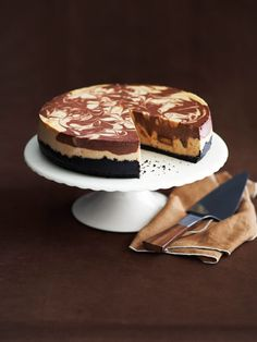 Peanut butter swirl cake