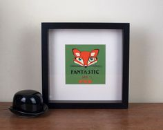 Fantastic Mr Fox Papercut by loutaylorpapercuts on Etsy, £35.00