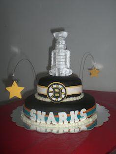 Landlocked Island Girl: Hockey Cake