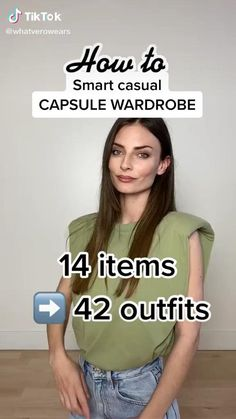 Smart Casual Wardrobe, Casual Work Outfits, Casual Chic Outfits, Cute Outfits, Smart Outfit, Capsule Wardrobe, Trendy Fashion, Fashion Outfits, Fashion Tips