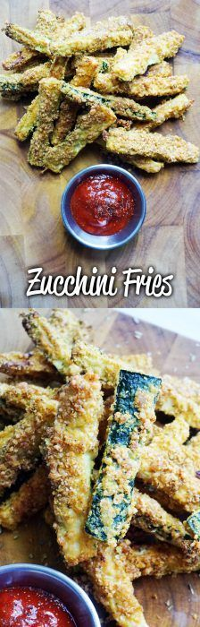 The most incredible zucchini fries you've ever had! Cheesy crunchy deliciousness in every bite. Keto, Low Carb!