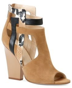 Calvin Klein Carlen Heeled 'Shootie' -- $99 --- if they changed that animal print to something more subtle, this would be a yes