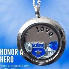 Police Force. Personalize yours today, JOIN MY TEAM! Host a party. Origami Owl Independent Designer# 28791