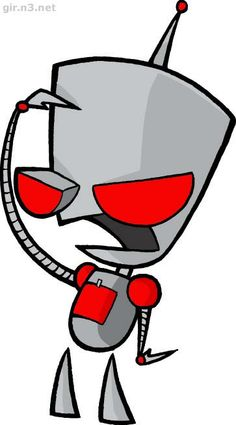 Gir in robot form | Invaider Zim | Pinterest | Invader zim and Robot
