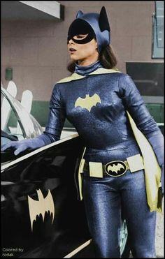 Yvonne Craig Batman And Batgirl, Batman 1966, Im Batman, Superman, Gotham Batman, Batman Art, Adam West Batman, Batman Y Robin, Batman Tv Show