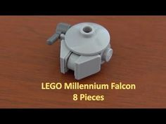 How To Build A LEGO Star Wars Mini Millennium Falcon 8 Pieces