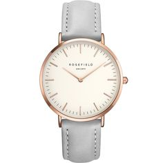 Rosefield The Bowery White Grey Rosegold BWGR-B9 38mm