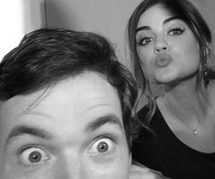 Images and videos of Ezria Pll, Pretty Little Liars, Ezra Fitz, I Want A Relationship, Ian Harding, Perfect Together, I Love Lucy, Lucy Hale, Celebrity Couples