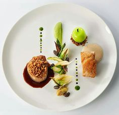 Plat assiette de Inconnu chef http://amzn.to/2keVOw4