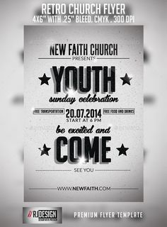 Church Flyer — Photoshop PSD #youth #pastors • Available here →…