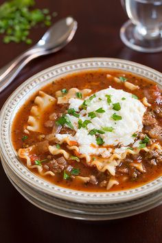 Recipe: Lasagna Soup Summary: Do you like lasagna? If you answered yes ...