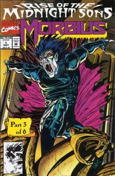 Morbius: The Living Vampire Vol 1 1 Rise Of The Midnight Sons Part 3
