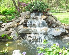 Serving the Long Island area Sky Fish Aquariums and Ponds is an aquarium and pond design, installation, and maintenance company catering to all your aquatic needs Water Pond, Garden Water, Water Gardens, Diy Water Feature, Backyard Water Feature, Pond Design, Landscape Design, Ponds For Small Gardens, Fish Aquariums