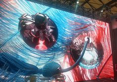 Another stunning P.3 HD LED display at an event in Brazil