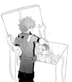 Boku no Hero Academia || Midoriya Izuku, Todoroki Shouto.