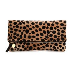 Elizabeth Olsen's leopard print clutch that can be seen in the movie Ingrid Goes West (2017)