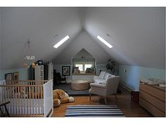 Memphis bungalow - finished attic