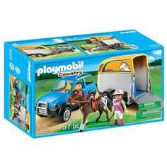 "Playmobil - SUV with Horse Trailer (5223) - Playmobil - Toys""R""Us"