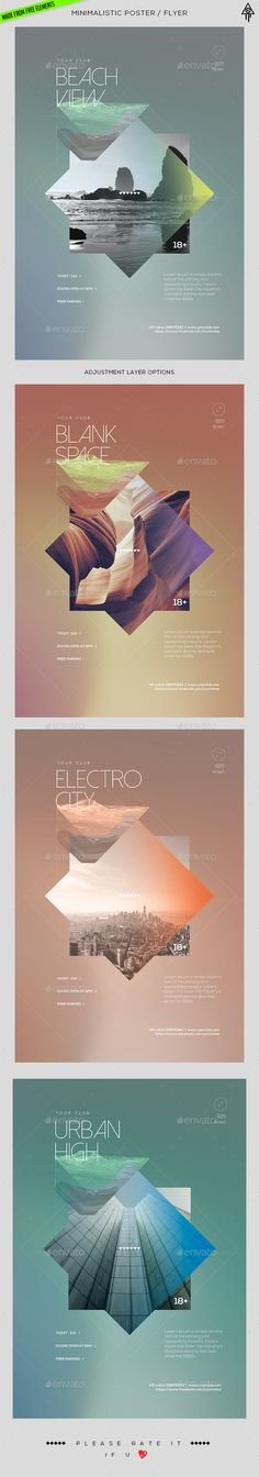 Irresistible  Minimalistic Poster Template  • Only available here ➝ http://graphicriver.net/item/minimalistic-poster-template/16290831?ref=pxcr