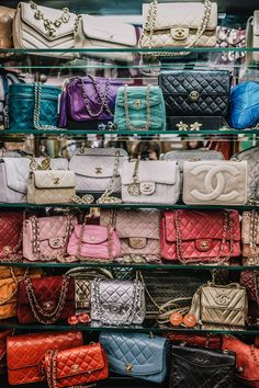 Chanel Bags All You Need to Know About the Iconic Accessory - Women's Handbags Chanel Handbags, Fashion Handbags, Purses And Handbags, Fashion Bags, Fashion Watches, Luxury Purses, Luxury Bags, Luxury Handbags, Buy Chanel Bag