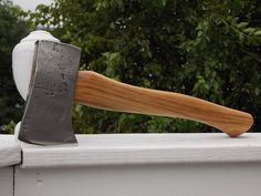 Vintage hand forged hatchet of unknown by AppalachianAxeworks