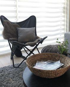 #kwantuminhuis Vlinderstoel ALBA > https://www.kwantum.nl/meubelen/stoelen @j.and.l.interior