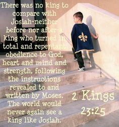 2 Kings 23:25, Josiah's Verse