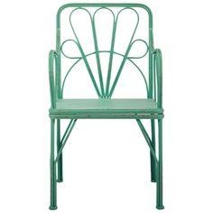 Sophie Arm Chair in Seafoam