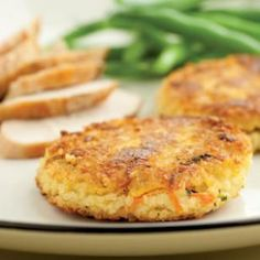 Savory Millet Cakes from Eating Well