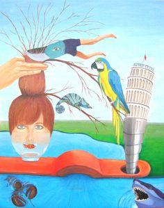 Painting by Smousje Art ©  Associaties van een snoeischaar