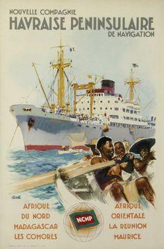 Nouvelle Compagnie Havraise Peninsulaire de Navigation ~ Albert Brenet