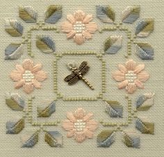 Cross Stitch Kit, Scenery, Four Seasons Rich Tree DIY Needlework Handmade Embroidery Home Room Dcor - Embroidery Design Guide Hardanger Embroidery, Hand Embroidery Patterns, Ribbon Embroidery, Floral Embroidery, Cross Stitch Embroidery, Embroidery Designs, Cross Stitch Designs, Cross Stitch Patterns, Bordados E Cia
