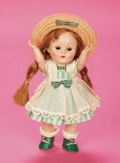 The Fabulous Fifties - Modern Dolls: 229 Ginny as Lucy by Vogue,1953,with Provenance