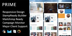Prime - Multipurpose Responsive Email Template + Stampready Builder . PRIME is a Multipurpose responsive email template designed for Corporate, Office, Business and general