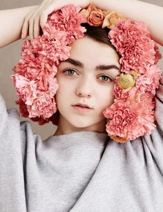 Maisie Williams, photographed by Ben Toms for Dazed & Confused, s/s 2015.