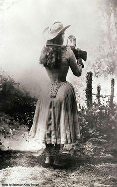 Annie Oakley circa 1899